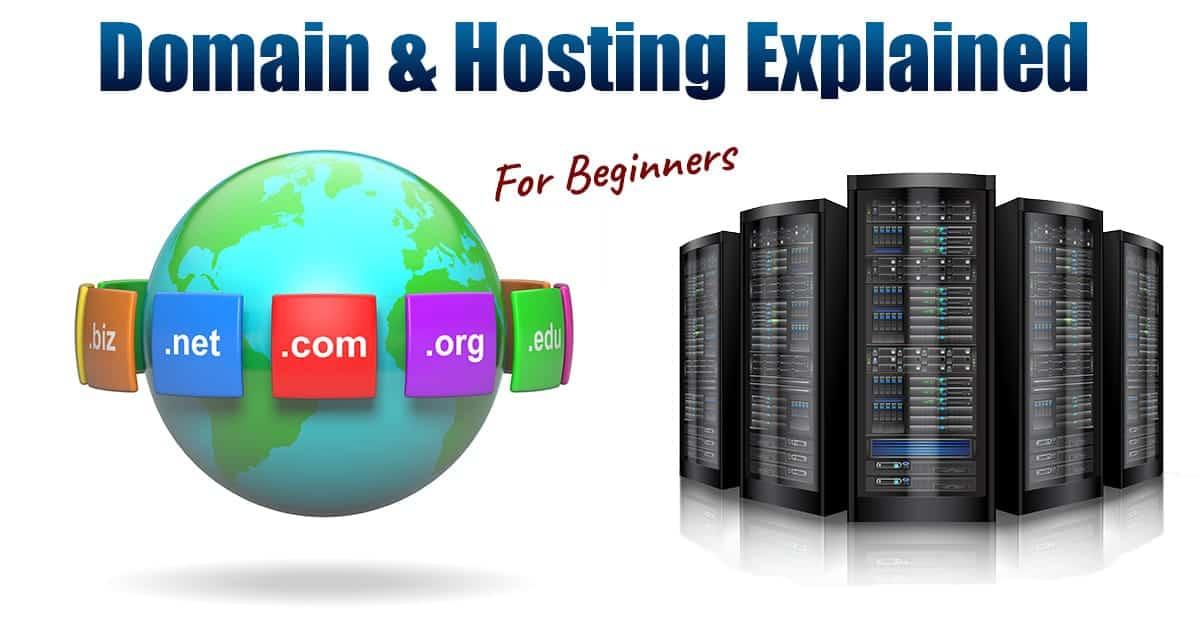 domain & web hosting explained