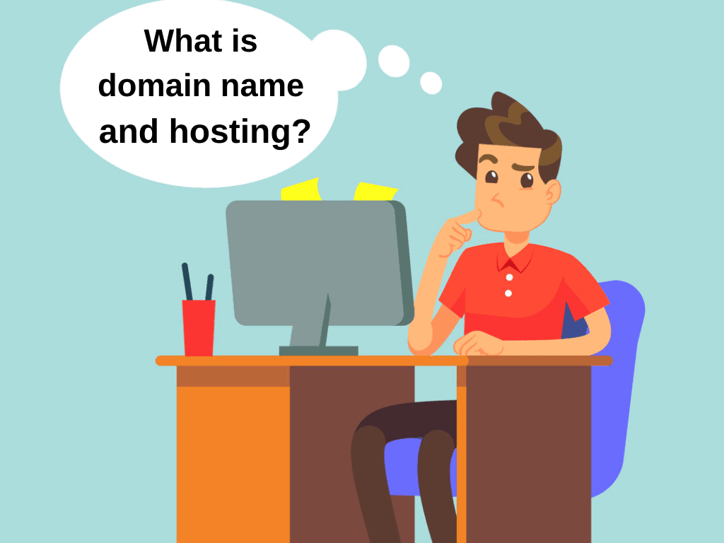 what is domain & hosting