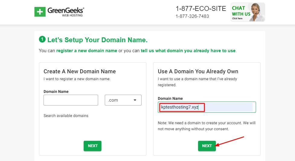2. setting up domain