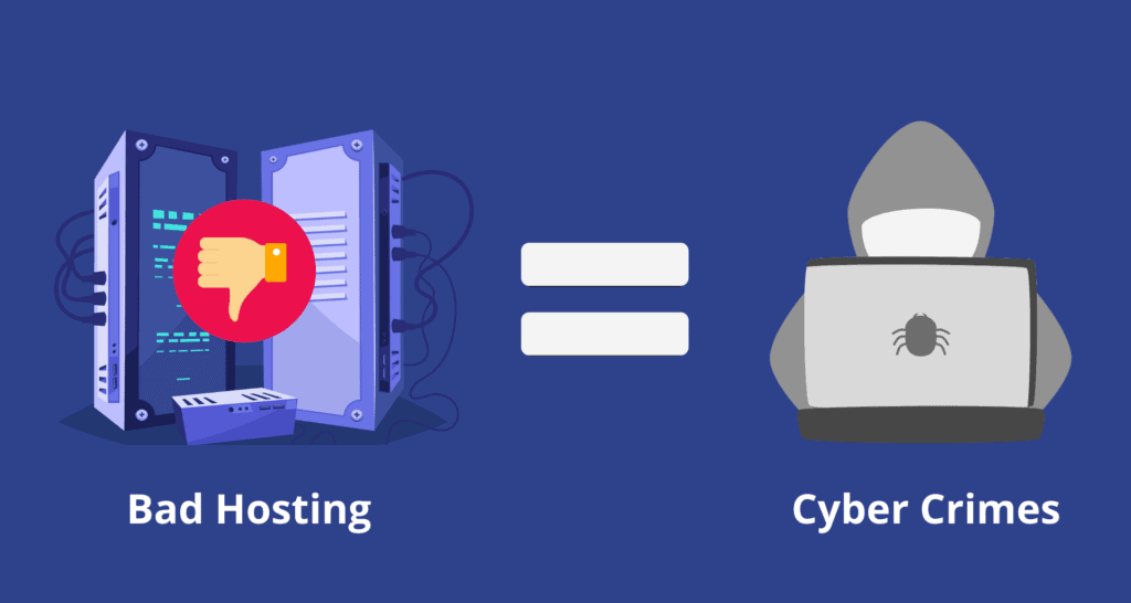bad hosting - cybercrimes