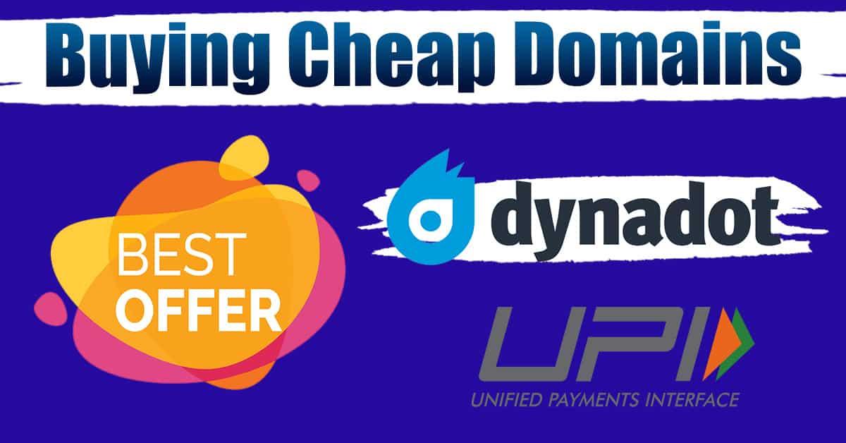 buy cheap domains dynadot