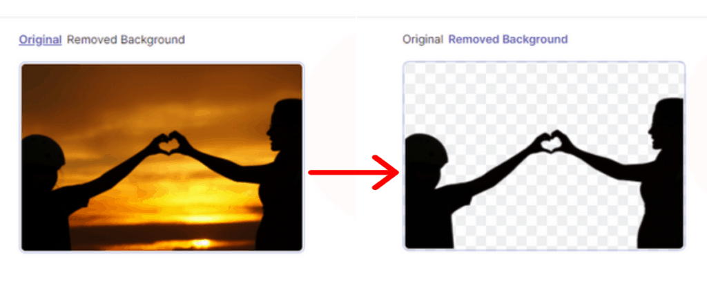 pixelied background remover