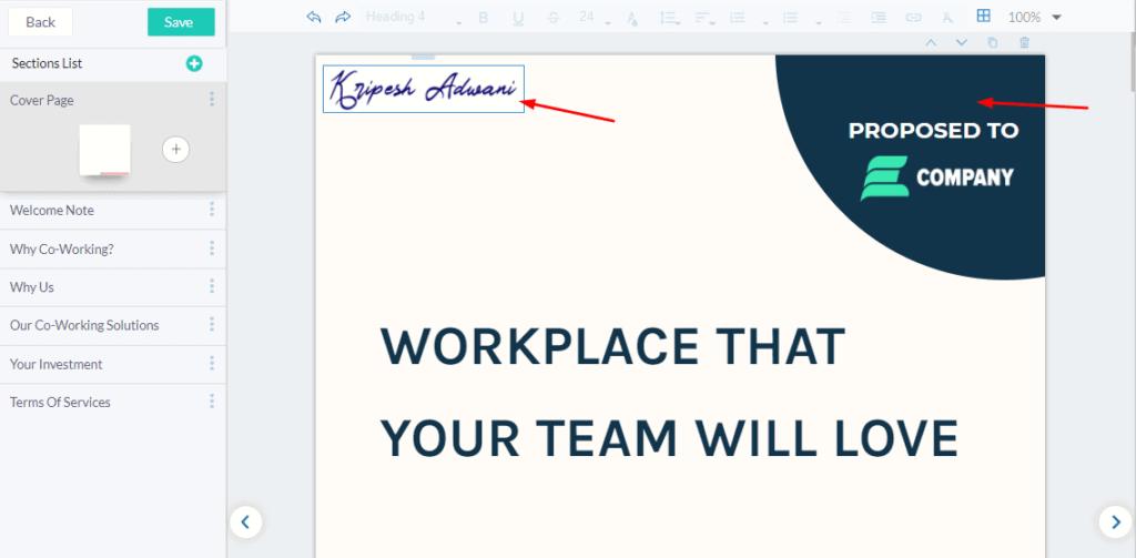 fresh proposals add logo