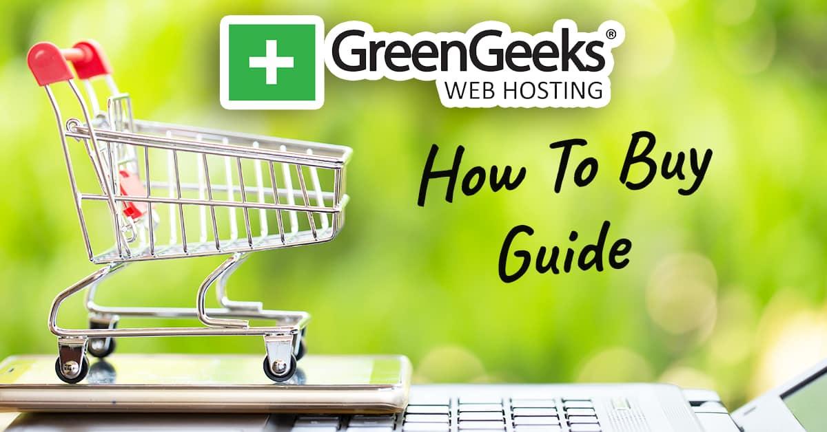 how to buy greengeeks hosting