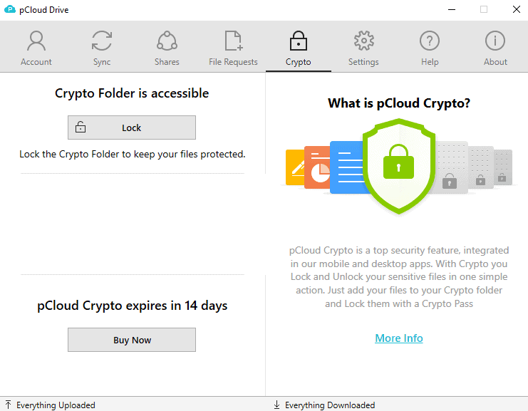 pcloud crypto