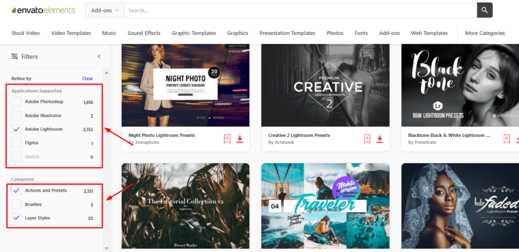 Envato Elements add-ons