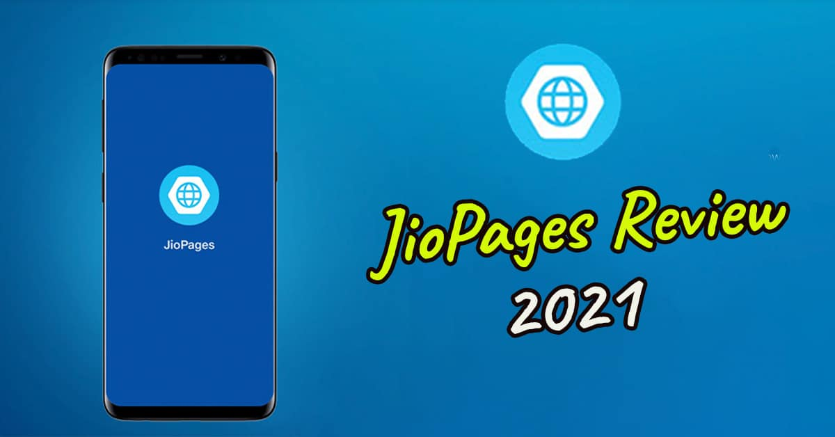 jiopages review