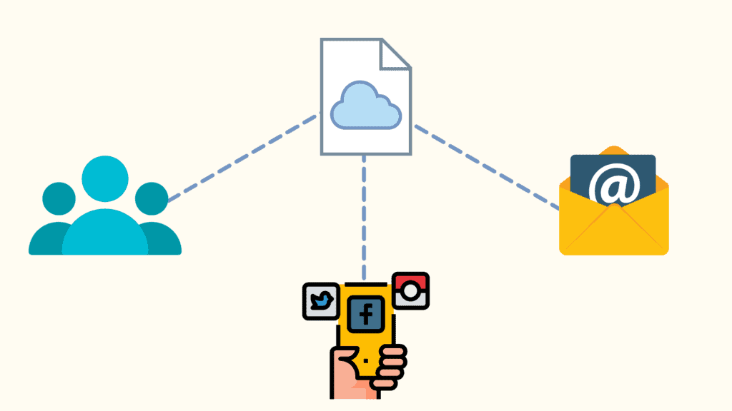 Local Storage vs Cloud Storage - Sharing