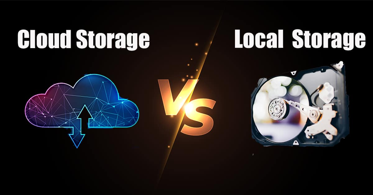 cloud vs local storage