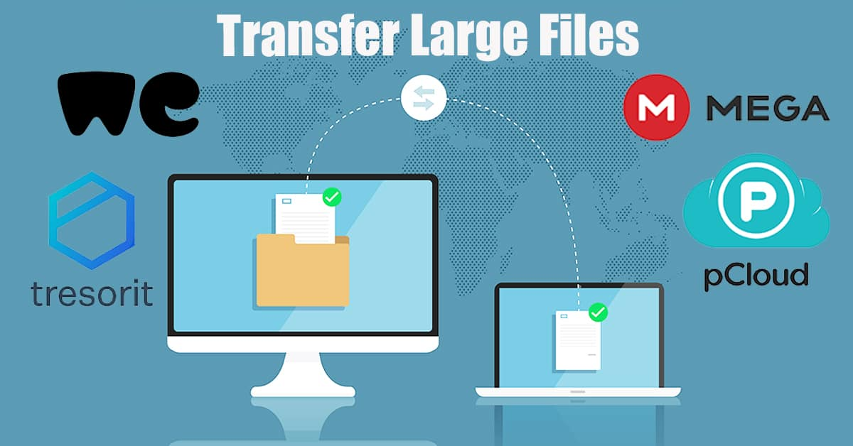 transfer large files 1 1