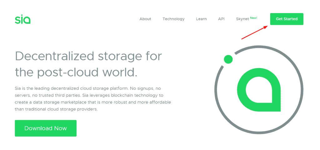 Sia storage