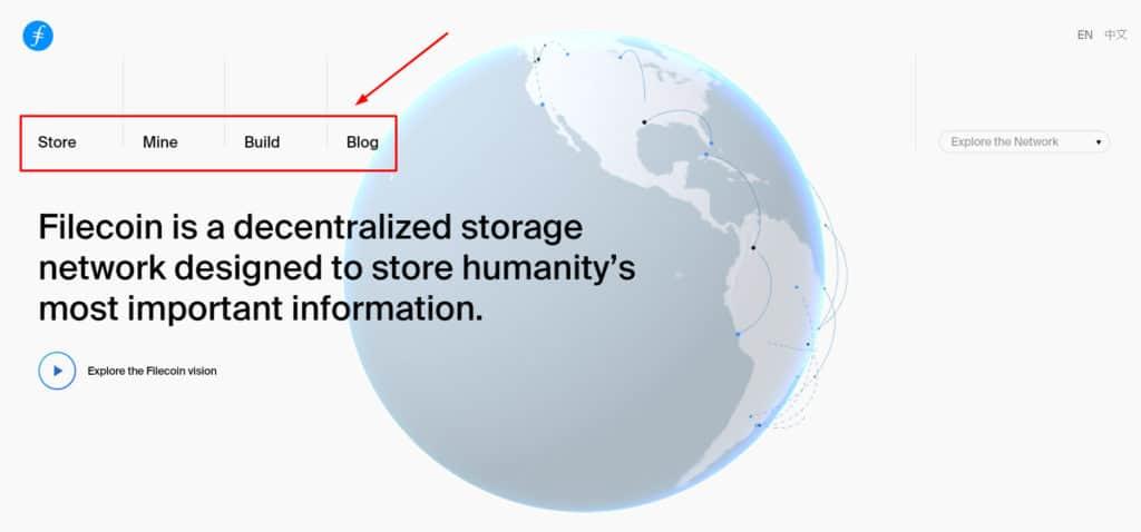 filecoin storage