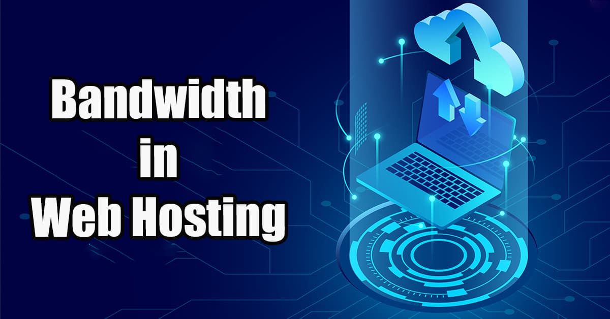 bandwidth in web hosting