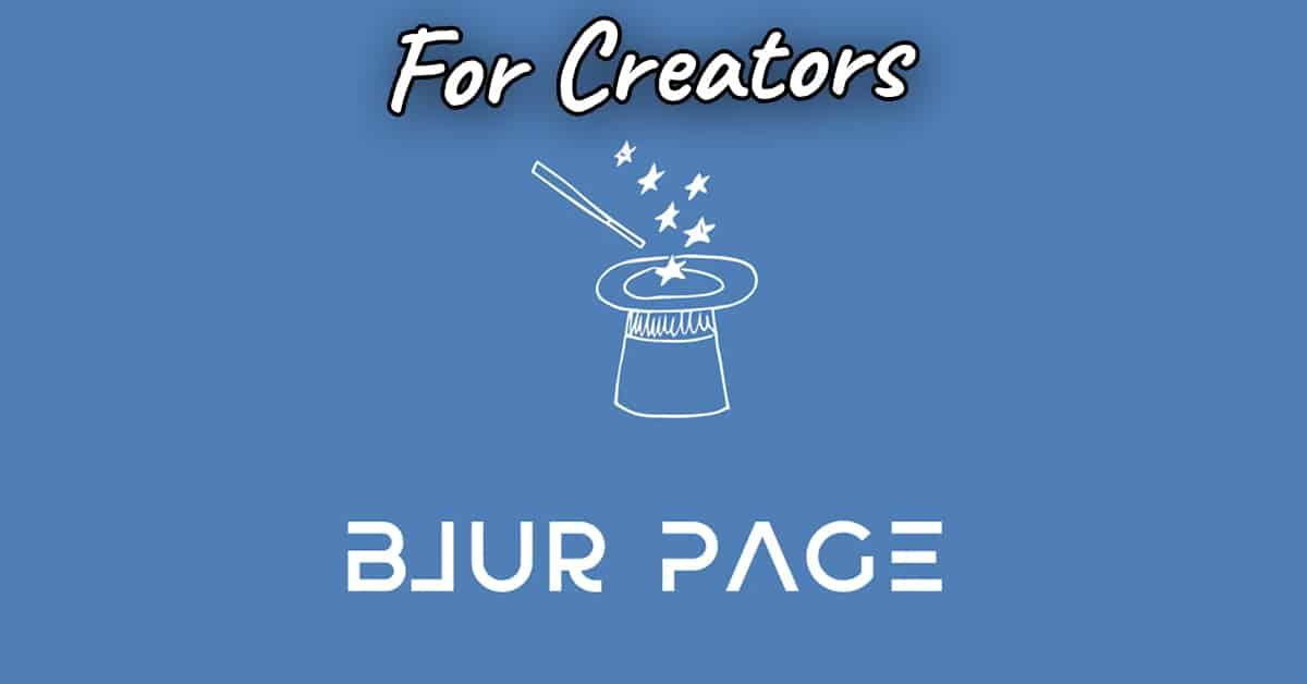 blurpage review