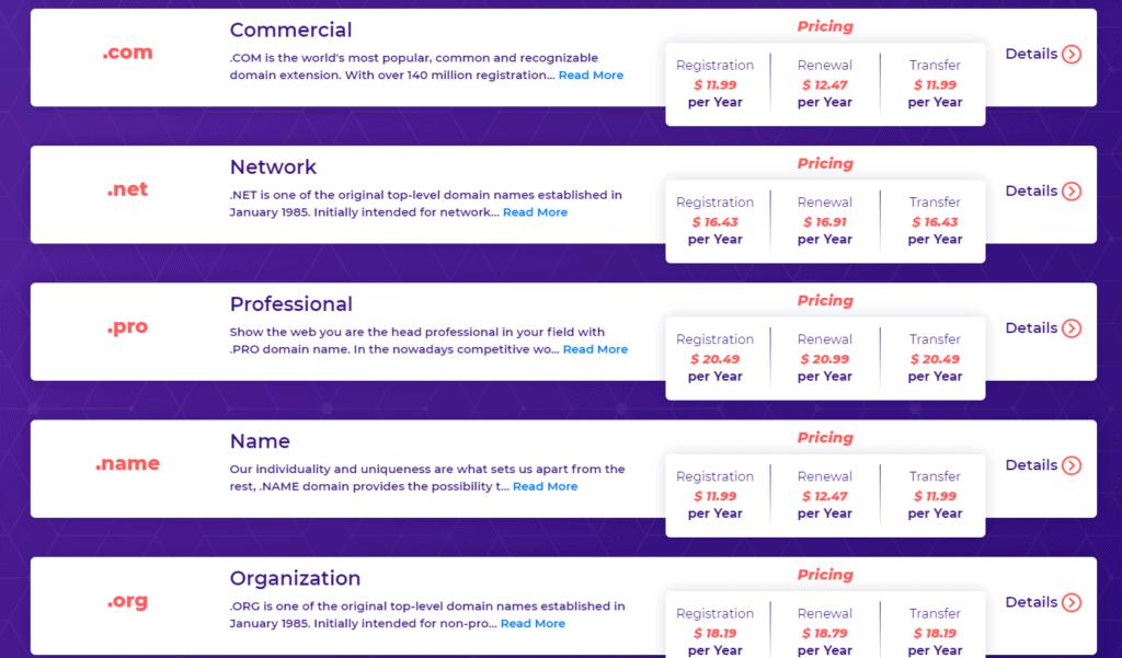 HostArmada Domains