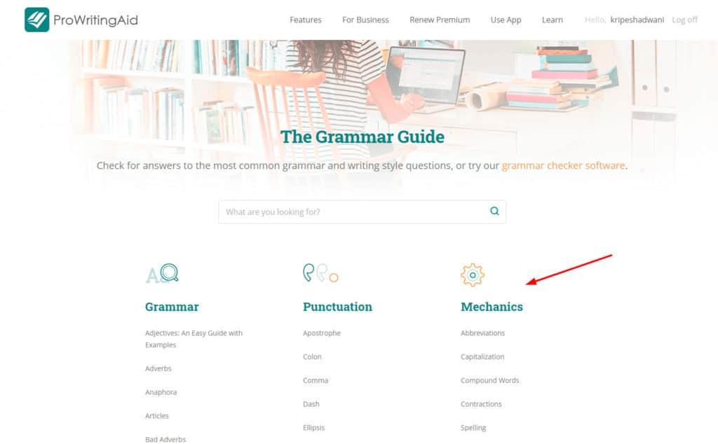 ProWritingAid Grammar Guide