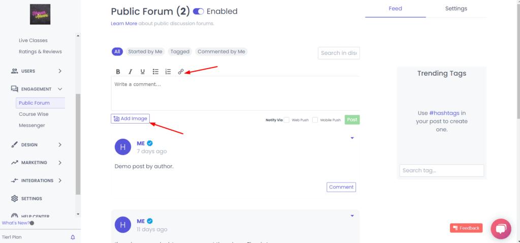 Public forum in spayee