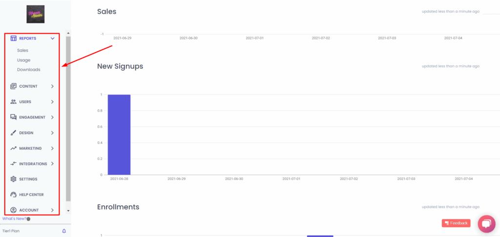 Spayee Admin interface