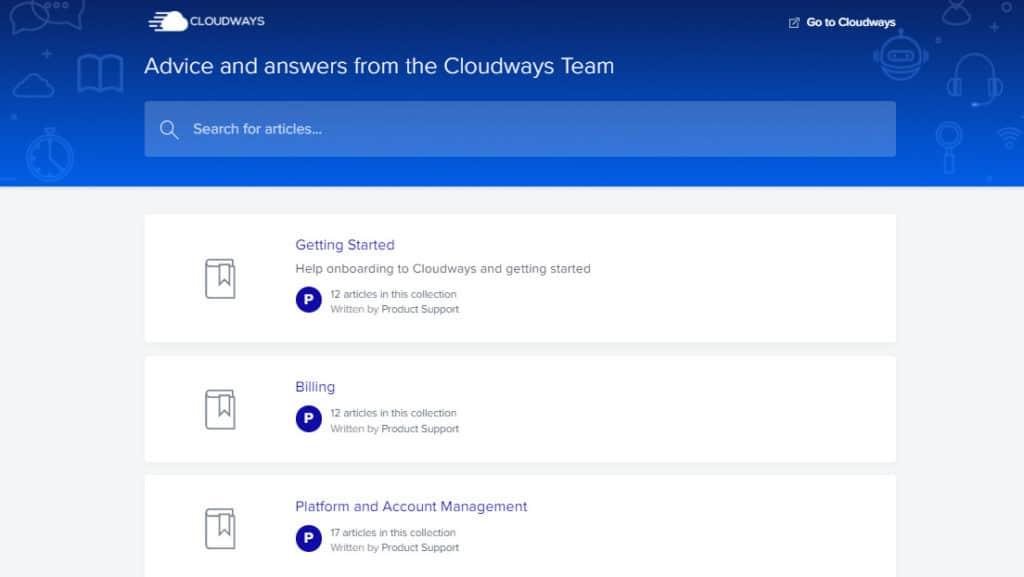 Cloudways Knowledgebase